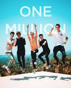 We hit one million followers on Insta!