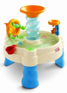 Toys for toddlers, Little Tikes Spiralin' Seas Waterpark Play Table - A Thrifty Mom