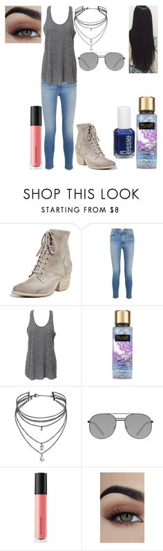 """""""Untitled #1311"""" by nerdynerdy on Polyvore featuring Jeffrey Campbell, Frame, Essie, Simplex Apparel, Victoria's Secret, Miss Selfridge, Elizabeth and James and Bare Escentuals"""