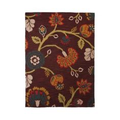 Threshold™ Floral Multi Hand Tufted Indoor/Outdoor Area Rug
