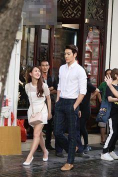 KIM WOO BIN❤️.....ahhh, the way she is looking at him