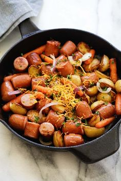 Really nice recipes. Every hour. — Skillet Sausage and Potatoes  Really nice recipes....