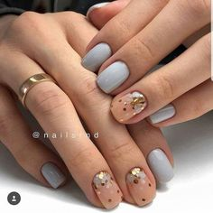Nail art Christmas - the festive spirit on the nails. Over 70 creative ideas and tutorials - My Nails Perfect Nails, Gorgeous Nails, Love Nails, Pretty Nails, Minimalist Nails, Nagel Gel, Stylish Nails, Creative Nails, Nail Arts