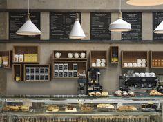 Paul Crofts Studio #cafe #interior #design #diseño #cafeterías