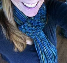 Use this free knitting pattern to make a super easy scarf.  This Quick Knit Scarf makes a wonderful diy gift idea.