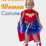 DIY Wonder Woman Kostüm – Make a Tutu – Melly Sews - Christmas Deesserts Disfraz Wonder Woman, Wonder Woman Tutu, Wonder Woman Birthday, Wonder Woman Logo, Toddler Costumes, Diy Costumes, Costumes For Women, Halloween Costumes, Halloween Ideas