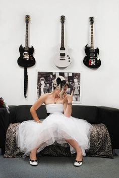 Punk Wedding / Punk Bride / Alternative Wedding Photo by Millyjane Photography Featured on Rock'n'Roll Bride