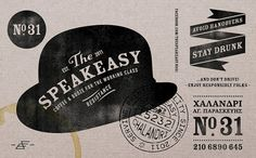 The Speakeasy...where liquor meets it match in wit and conversation. **FUN FACT** Most classic cocktails were created during the 1930's Prohibition era to aid the aftertaste of inferior quality booze.