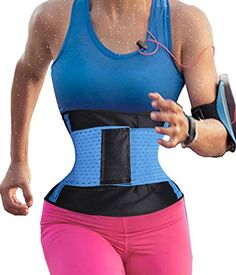 ddf2ad8879c53 Women s Waist Trainer Belt Hot Sweat Body Shaper Belt For An Hourglass  Shaper at Amazon Women s Clothing store