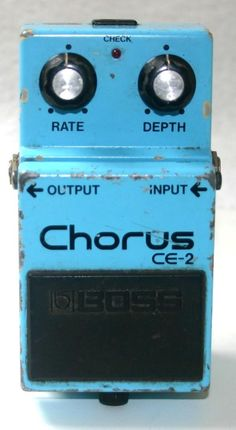 BOSS CE-2 CHORUS MIJ  I have a broken one of these that I am looking at fixing and modding it