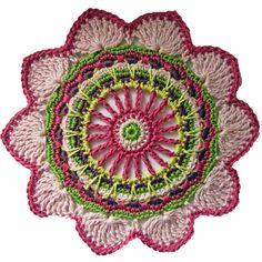 passion flower crochet pattern
