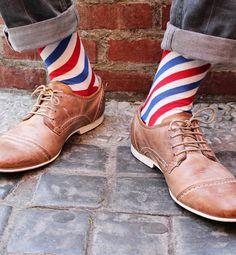 Step up the sock game: Barber Shop Socks