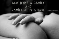 Chronicles of a Babywise Mom: Baby Joins a Family {AND} Family Adds a Baby