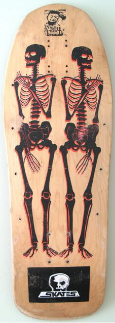 DECK OF THE DAY | SKULL SKATES