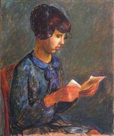 Joseph Czapski - Jeune Fille À La Lecture (1930)