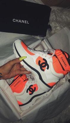 official photos 9096e a8cf3 Chanel Sneakers, Chanel Shoes, Shoes Sneakers, Shoes Heels, Shoe Boots,  Winter