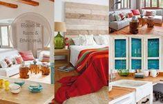 Πως θα φτιάξετε επιτραπέζια Φωτιστικά από γυάλινα Μπουκάλια-Βάζα House Tours, Rustic, Rock Art, Bed, Furniture, Home Decor, Holiday Ornaments, Houses, Country Primitive