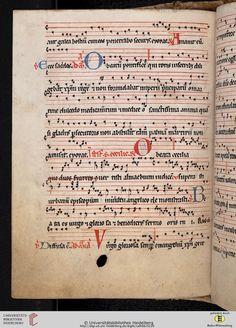 Antiphonarium Cisterciense Salem, um 1200 Cod. Sal. X,6b  Folio 113v