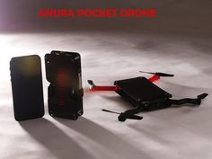 The Anura is a portable quadcopter created by San Francisco-based photographer Jason Lam that folds down into roughly the size of a smartphone. The drone has a built-in camera for live video feeds ...