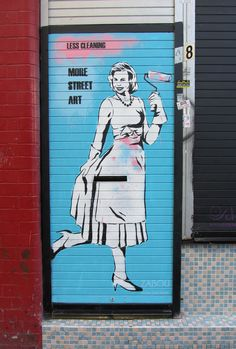 ZABOU - Less cleaning, more street art