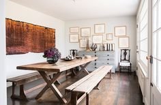 Mix and Chic: Home tour- A designer's collected and charming New York farmhouse!