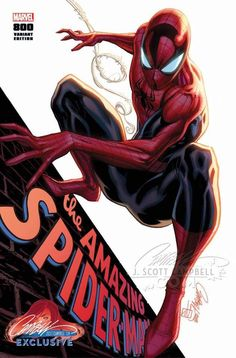 The Amazing Spider-Man #800 (2018) JSC Exclusive A Variant Cover by J. Scott Campbell