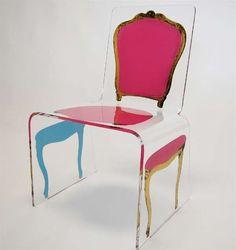 Lavish Post-Modern Seating - Very damn cool!