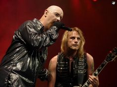 rob halford judas priest photos | Judas Priest - Rob Halford and Richie Faulkner | Flickr - Photo ...