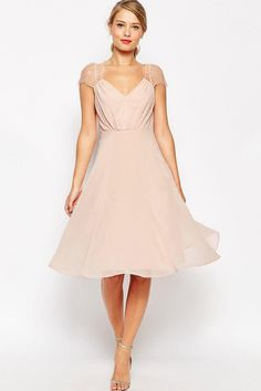 $106.69 Cap Sleeve chiffon Bridesmaid Dress. Shop for long dresses, designer dresses, casual dresses, occasion dresses, backless dresses, elegant dresses, black tie dresses. We have great 2017 bridesmaid dresses for sale. Available in Gold, Yellow, Pink, Lavender Burgundy, Peach…#UCenterDress.com #bridesmaiddress