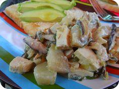 Vegan Mother Hubbard: Feeding Vegan Toddlers: Breakfast and a Recipe for Scrambled Tofu
