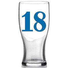 18th happy birthday drinks #glass #drinking present gift beer lager pint #boxed,  View more on the LINK: 	http://www.zeppy.io/product/gb/2/201605934455/