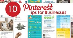 Top 10 Ways to Use Pinterest for Business