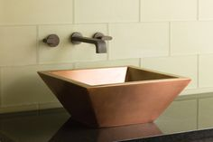 Copper Quattro Sink by Stone Forest