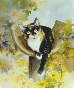 Mister Cat :: Woodsong Institute of Art :: Marilyn Todd-Daniels