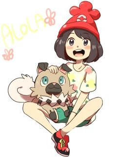 Me and my rockruff!