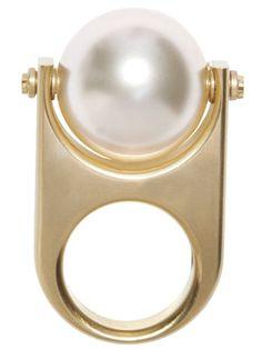 The BAZAAR: Haute Hues, Chanel ring.