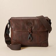 $258 from Fossil.  excellent man purse.