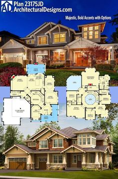 Architectural Designs Craftman House Plan – make some adjustments. Reali… Architectural Designs Craftman House Plan – make some adjustments. Realistic house that I. House Plans One Story, Ranch House Plans, Bedroom House Plans, Craftsman House Plans, Modern House Plans, Story House, Small House Plans, House Floor Plans, The Plan