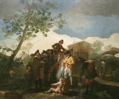 El ciego de la guitarra.1778 Francisco de Goya
