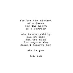 """""""#poem #227 """" she is you """" pt. 2 by #rhsin @r.h.sin is now available for purchase via #etsy( link in bio ) shipping delays due to a high volume of orders,…"""""""