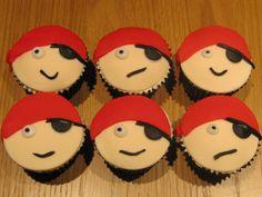 Cute cupcakes Pirate Birthday, Pirate Party, 4th Birthday, Birthday Parties, Birthday Ideas, Princess Tea Party, Princess Cupcakes, Princess Birthday, Pirate Cupcake