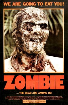If your a horror buff- this Lucio Fulci Zombie poster is for you! Plaster your walls with the face of this lovely decaying zombie from this iconic movie. Horror Movie Posters, Horror Films, Retro Horror, Vintage Horror, Zombies, Zombie Movies, Scary Movies, Cult Movies, Vincent Price