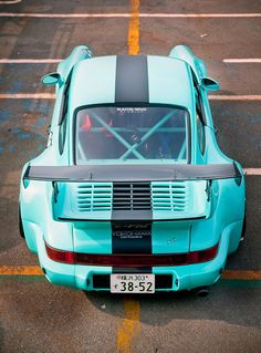 Love the color!  Porsche 964 RWB