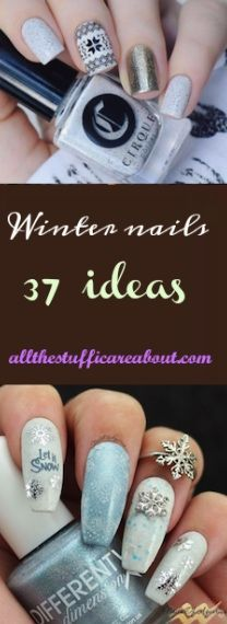 Winter nails, Christmas nails, festive nails, acrylic nails, coffin nails, square nails, nail design, simple matte nail design, snowflake, shellac nail, nail polish, blue nail design, black nail design, glitter nail design, classy nails, almond nails, round nails, short nails, long nails, burgundy nails, white nails, nail art, nail ideas, long nails, Opi nails, purple nails, gray nails, silver nails, gold nails, elegant nail art, sparkly nail art