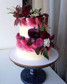 Gorgeous Wedding Cake Fresh Flowers Combo You Will Love – Bridezilla Flowers Wedding Cake Centerpieces, Diy Wedding Cake, Wedding Cake Designs, Beautiful Cakes, Amazing Cakes, Fresh Flower Cake, Fresh Flowers, Individual Cakes, Traditional Cakes