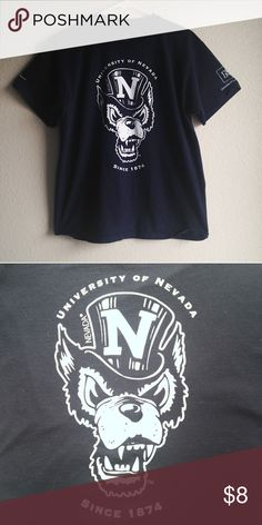 0b429ed34f34f MAJOR SALE ❤ 💋😘UNR University of Nevada Wolfpack Division One UNR  University of Nevada Reno Wolfpack T-shirt. Making room for new inventory!