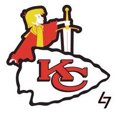 Kansas City Chiefs - Arthur - The Sword in the Stone