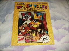 Plastic Canvas Pattern Leaflet Looney Tunes Book by ClassyStitches