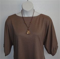 This is a nice heavier weight ponte in a gorgeous tan color.  Perfect for shoulder surgery, breast cancer or mastectomy, special  needs and adaptive clothing for elderly, stroke and hospice.