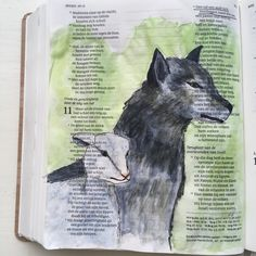 Jesaja 11 #bijbel #biblejournaling